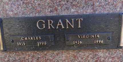 GRANT, VIRGINIA - Yavapai County, Arizona | VIRGINIA GRANT - Arizona Gravestone Photos