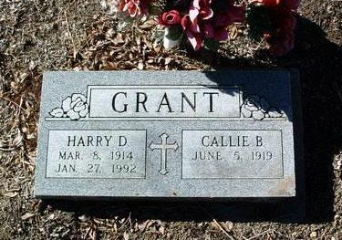 GRANT, CALLIE B. - Yavapai County, Arizona | CALLIE B. GRANT - Arizona Gravestone Photos