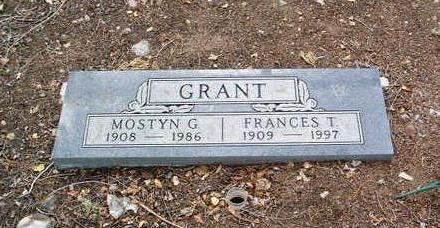 GRANT, FRANCES T. - Yavapai County, Arizona | FRANCES T. GRANT - Arizona Gravestone Photos