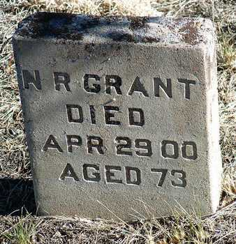 GRANT, NELSON R. - Yavapai County, Arizona | NELSON R. GRANT - Arizona Gravestone Photos
