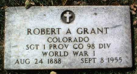 GRANT, ROBERT A. - Yavapai County, Arizona | ROBERT A. GRANT - Arizona Gravestone Photos