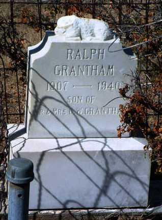 GRANTHAM, RALPH J. - Yavapai County, Arizona | RALPH J. GRANTHAM - Arizona Gravestone Photos