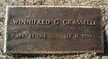 BARTH GRASSELLI, W. G. - Yavapai County, Arizona | W. G. BARTH GRASSELLI - Arizona Gravestone Photos