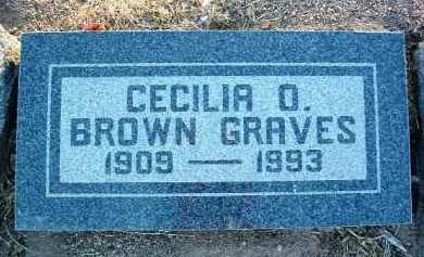 BROWN, CECILIA ODILIA - Yavapai County, Arizona | CECILIA ODILIA BROWN - Arizona Gravestone Photos