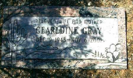 BRANNUM GRAY, GERALDINE - Yavapai County, Arizona   GERALDINE BRANNUM GRAY - Arizona Gravestone Photos