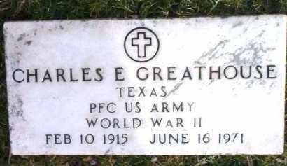 GREATHOUSE, CHARLES E. (CHARLEY) - Yavapai County, Arizona | CHARLES E. (CHARLEY) GREATHOUSE - Arizona Gravestone Photos