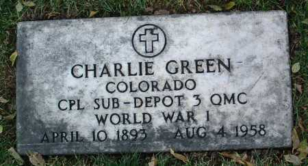 GREEN, CHARLIE - Yavapai County, Arizona   CHARLIE GREEN - Arizona Gravestone Photos
