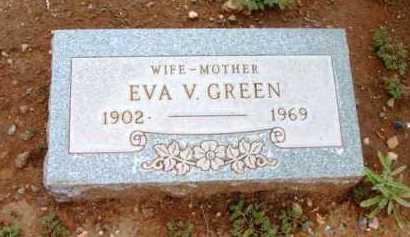 GREEN, EVA V. - Yavapai County, Arizona   EVA V. GREEN - Arizona Gravestone Photos