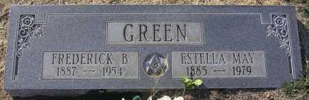 GREEN, ESTELLA MAY - Yavapai County, Arizona | ESTELLA MAY GREEN - Arizona Gravestone Photos