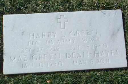 GREEN, HARRY LAWRENCE - Yavapai County, Arizona | HARRY LAWRENCE GREEN - Arizona Gravestone Photos