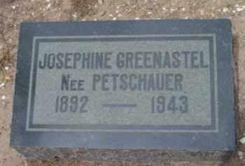 GREENASTEL, JOSEPHINE - Yavapai County, Arizona   JOSEPHINE GREENASTEL - Arizona Gravestone Photos