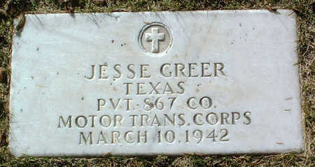GREER, JESSE - Yavapai County, Arizona | JESSE GREER - Arizona Gravestone Photos
