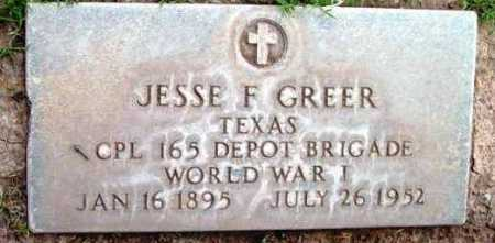 GREER, JESSE FLOYD - Yavapai County, Arizona   JESSE FLOYD GREER - Arizona Gravestone Photos