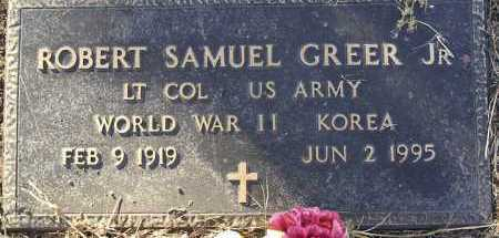 GREER, ROBERT SAMUEL, JR. - Yavapai County, Arizona | ROBERT SAMUEL, JR. GREER - Arizona Gravestone Photos