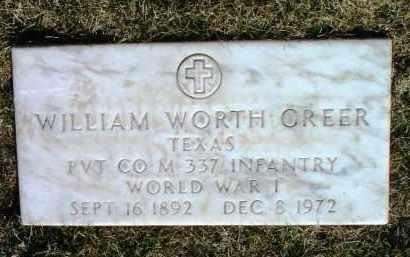 GREER, WILLIAM WORTH - Yavapai County, Arizona | WILLIAM WORTH GREER - Arizona Gravestone Photos