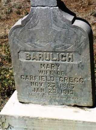 GREGG, MARY - Yavapai County, Arizona   MARY GREGG - Arizona Gravestone Photos