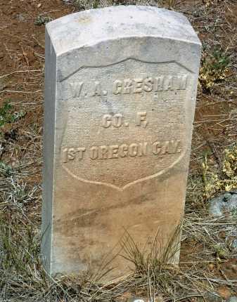GRESHAM, WILLIAM A. - Yavapai County, Arizona | WILLIAM A. GRESHAM - Arizona Gravestone Photos