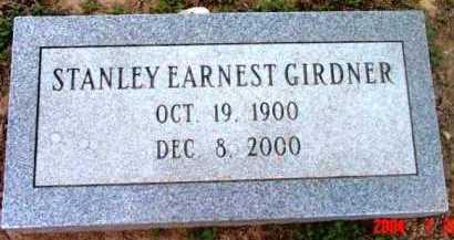 GIRDNER, STANLEY EARNEST - Yavapai County, Arizona | STANLEY EARNEST GIRDNER - Arizona Gravestone Photos