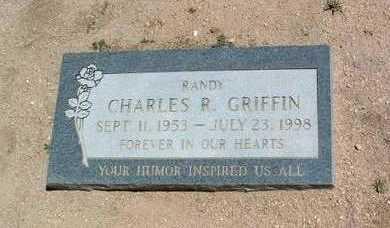 GRIFFIN, CHARLES R. (RANDY) - Yavapai County, Arizona   CHARLES R. (RANDY) GRIFFIN - Arizona Gravestone Photos