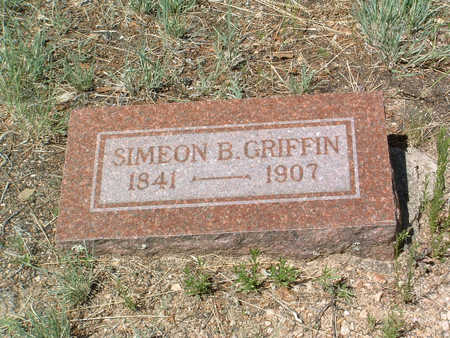 GRIFFIN, SIMEON B. - Yavapai County, Arizona | SIMEON B. GRIFFIN - Arizona Gravestone Photos