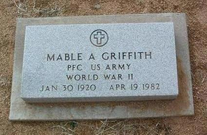 NEATEROUR GRIFFITH, MABEL A. - Yavapai County, Arizona | MABEL A. NEATEROUR GRIFFITH - Arizona Gravestone Photos