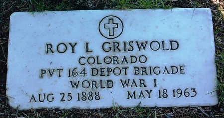 GRISWOLD, ROY LEE - Yavapai County, Arizona | ROY LEE GRISWOLD - Arizona Gravestone Photos