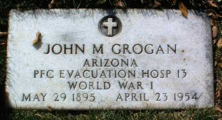GROGAN, JOHN M. - Yavapai County, Arizona | JOHN M. GROGAN - Arizona Gravestone Photos