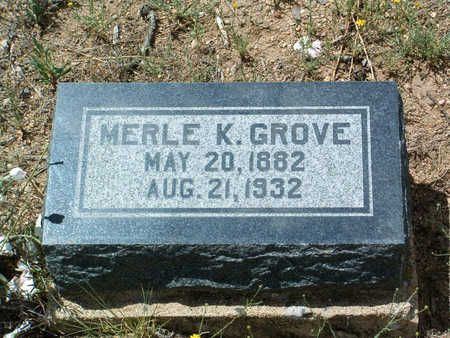 GROVE, MERLE KENNETH - Yavapai County, Arizona | MERLE KENNETH GROVE - Arizona Gravestone Photos