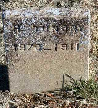 GUNDRY, HENRY - Yavapai County, Arizona   HENRY GUNDRY - Arizona Gravestone Photos