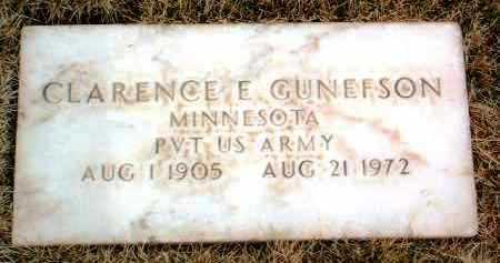 GUNEFSON, CLARENCE ERVIN - Yavapai County, Arizona | CLARENCE ERVIN GUNEFSON - Arizona Gravestone Photos