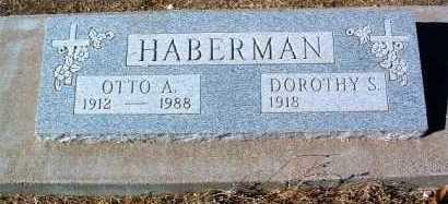 HABERMAN, OTTO A. - Yavapai County, Arizona | OTTO A. HABERMAN - Arizona Gravestone Photos