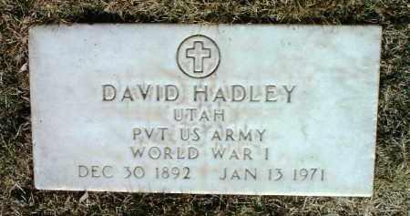 HADLEY, DAVID - Yavapai County, Arizona | DAVID HADLEY - Arizona Gravestone Photos