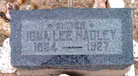 MANN HADLEY, IONA LEE - Yavapai County, Arizona | IONA LEE MANN HADLEY - Arizona Gravestone Photos
