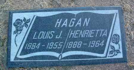 JONES HAGAN, HENRIETTA - Yavapai County, Arizona | HENRIETTA JONES HAGAN - Arizona Gravestone Photos