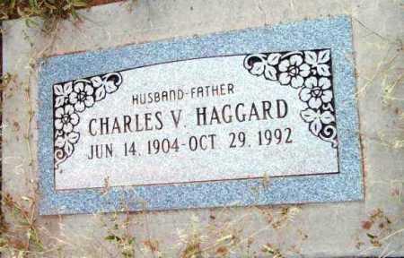 HAGGARD, CHARLES V. - Yavapai County, Arizona   CHARLES V. HAGGARD - Arizona Gravestone Photos