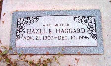 HAGGARD, HAZEL R. - Yavapai County, Arizona   HAZEL R. HAGGARD - Arizona Gravestone Photos