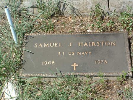 HAIRSTON, SAMUEL J. - Yavapai County, Arizona | SAMUEL J. HAIRSTON - Arizona Gravestone Photos