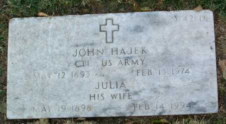 HAJEK, JOHN - Yavapai County, Arizona | JOHN HAJEK - Arizona Gravestone Photos