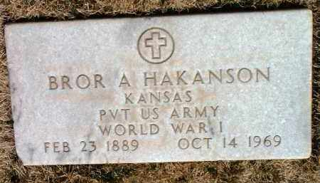 HAKANSON, BROR A. - Yavapai County, Arizona   BROR A. HAKANSON - Arizona Gravestone Photos