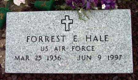 HALE, FORREST EDWIN - Yavapai County, Arizona   FORREST EDWIN HALE - Arizona Gravestone Photos