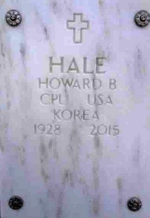 HALE, HOWARD BRITTON - Yavapai County, Arizona | HOWARD BRITTON HALE - Arizona Gravestone Photos
