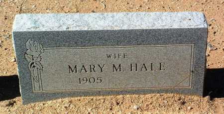 HALE, MARY M. - Yavapai County, Arizona | MARY M. HALE - Arizona Gravestone Photos