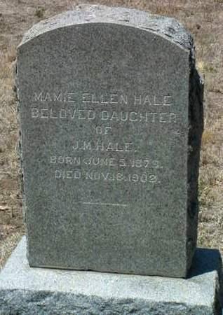 HALE, MAMIE ELLEN - Yavapai County, Arizona   MAMIE ELLEN HALE - Arizona Gravestone Photos