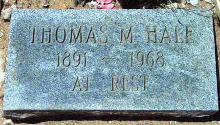 HALE, THOMAS M. - Yavapai County, Arizona | THOMAS M. HALE - Arizona Gravestone Photos