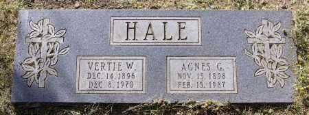 HALE, AGNES HARRIET - Yavapai County, Arizona | AGNES HARRIET HALE - Arizona Gravestone Photos