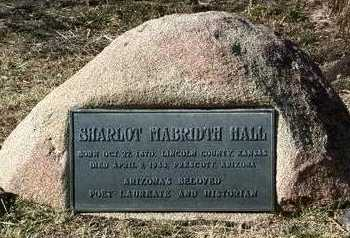 HALL, SHARLOT  MABRIDTH - Yavapai County, Arizona | SHARLOT  MABRIDTH HALL - Arizona Gravestone Photos