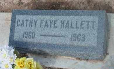 HALLETT, CATHY FAYE - Yavapai County, Arizona | CATHY FAYE HALLETT - Arizona Gravestone Photos