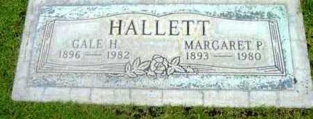 HALLETT, GALE HAMILTON - Yavapai County, Arizona | GALE HAMILTON HALLETT - Arizona Gravestone Photos