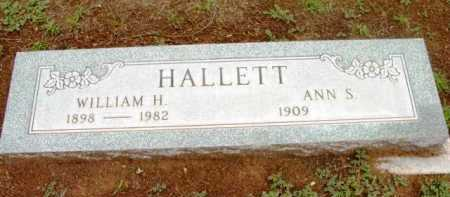HALLETT, WILLIAM HENRY - Yavapai County, Arizona | WILLIAM HENRY HALLETT - Arizona Gravestone Photos