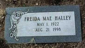 HALLEY, FREIDA MAE - Yavapai County, Arizona | FREIDA MAE HALLEY - Arizona Gravestone Photos